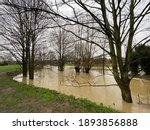 Flooding At Clipstone Brook In...