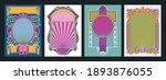 colorful decorative frames ... | Shutterstock .eps vector #1893876055
