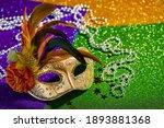 Festive  Colorful Mardi Gras Or ...