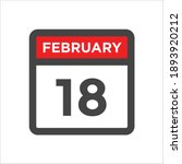 red and black calendar icon w...   Shutterstock .eps vector #1893920212