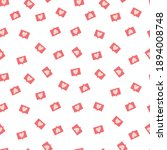 seamless pattern with love...   Shutterstock .eps vector #1894008748