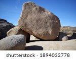 Isolated Gigantic Boulder Among ...