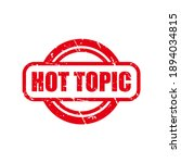 abstract red grungy hot topic... | Shutterstock .eps vector #1894034815
