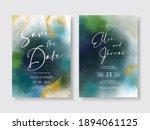 elegant wedding invitation with ... | Shutterstock .eps vector #1894061125