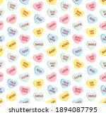 vector seamless pattern of...   Shutterstock .eps vector #1894087795