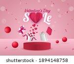 valentine's day sale poster...   Shutterstock .eps vector #1894148758