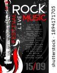rock music festival poster... | Shutterstock .eps vector #1894171705