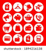 set icons for web apps  vector... | Shutterstock .eps vector #1894216138
