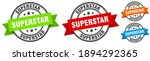 superstar stamp. superstar... | Shutterstock .eps vector #1894292365