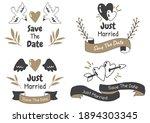 valentine label vector logo for ... | Shutterstock .eps vector #1894303345
