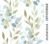 decorative leaves. seamless...   Shutterstock .eps vector #1894308868
