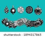 arabic jewelry vector of...   Shutterstock .eps vector #1894317865
