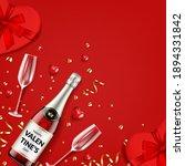 valentine's day card....   Shutterstock .eps vector #1894331842