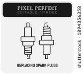 car service  replacing spark...   Shutterstock .eps vector #1894356358