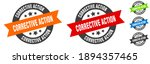 corrective action stamp.... | Shutterstock .eps vector #1894357465