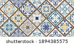 seamless colorful patchwork... | Shutterstock .eps vector #1894385575
