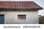 Window In Weathered Rustic Barn