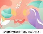 mystical fantasy forest flowers ...   Shutterstock .eps vector #1894528915