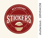 pot stickers or dumplings and...   Shutterstock .eps vector #1894544158