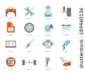 auto mechanic car service... | Shutterstock .eps vector #189460136