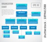 organizational chart... | Shutterstock .eps vector #189461588