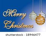 merry christmas card. over a...   Shutterstock .eps vector #18946477