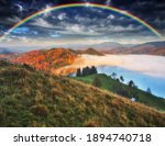Rainbow Over The Mountains....