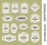 antique frame decorative frame... | Shutterstock .eps vector #1894796542