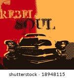 oldtimer car. vector... | Shutterstock .eps vector #18948115