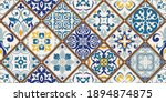 seamless colorful patchwork...   Shutterstock .eps vector #1894874875