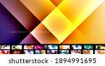 various simple minimal... | Shutterstock .eps vector #1894991695