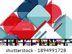 mega set of various abstract... | Shutterstock .eps vector #1894991728