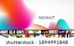 various simple minimal... | Shutterstock .eps vector #1894991848