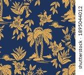 seamless vector print designs... | Shutterstock .eps vector #1895044012