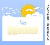 vector illustration  eps 10  of ... | Shutterstock .eps vector #189506912