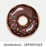 vector illustration of sweet... | Shutterstock .eps vector #1895091565