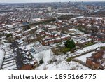 Aerial Photo Of A Snowy Day In...