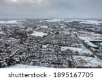 Leeds Uk  16th Jan 2021  Aerial ...