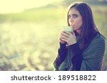 keeping warm | Shutterstock . vector #189518822