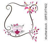 Cute Owl Clipart And Frame....
