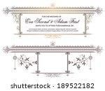 template for the design of... | Shutterstock .eps vector #189522182