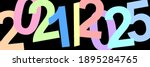 a time. decade of the 20s of... | Shutterstock . vector #1895284765