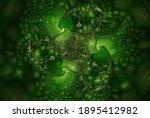 Fantastic Green Fractal...