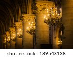 Colonnade In The Interior Of A...
