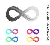 infinity sign | Shutterstock .eps vector #189552782