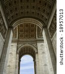 arch of triumph from inside   Shutterstock . vector #18957013