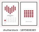 valentine's day concept.... | Shutterstock .eps vector #1895808385