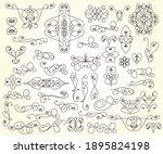 set of vintage elements... | Shutterstock .eps vector #1895824198