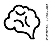 brain icon or logo isolated...   Shutterstock .eps vector #1895826085