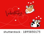 Happy Valentine's Day With Cute ...